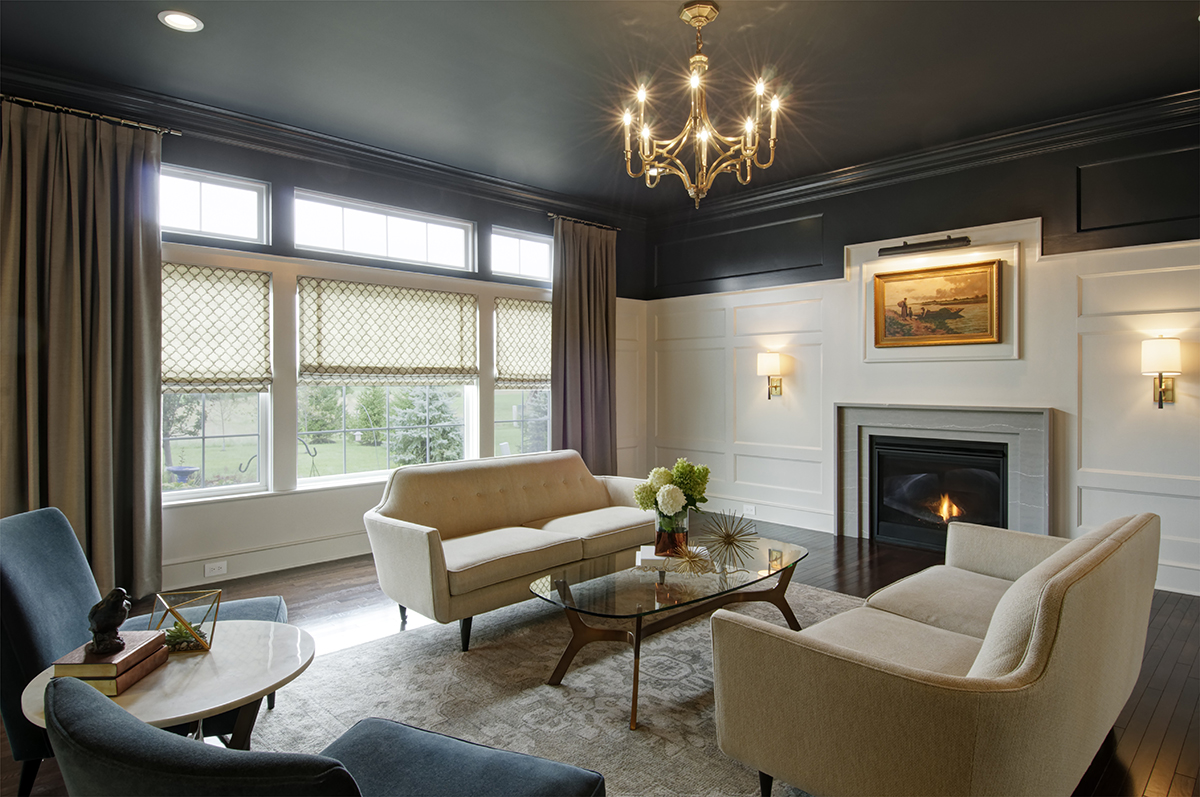 stunning award winning living room interiors | Dave Fox Design Build Remodelers | NARI